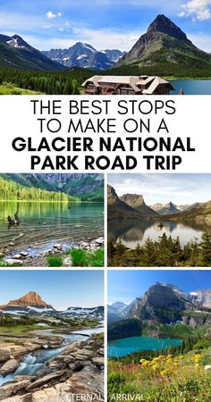 Waterton Lakes National Park, Glacier National Park Montana, National Parks Usa, Zion National Park, Glacier Np, Glacier Montana, Vacation Spots, Vacation Packing, Camping Packing