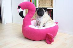 Een persoonlijke favoriet uit mijn Etsy shop https://www.etsy.com/nl/listing/530658523/flamingo-bed-mand-cute-kawaii-mand