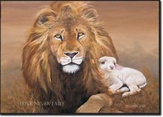 Lion and the Lamb by Barbara Lund