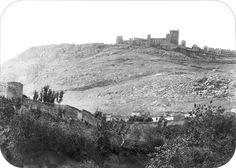 Alcazar viejo de santa catalina junto castillo de Jaen .Spain.