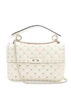 626faea767a Valentino Rockstud medium quilted-leather shoulder bag Valentino Rockstud  Clutch