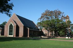 Butler Chapel at Campbell University! This is my favorite building so pretty inside and out!