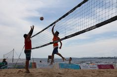 Experience the thrill of competition at the EVP Tour Adirondack Coast Beach Volleyball Pro-Am July 23, 2016! www.goadirondack.com