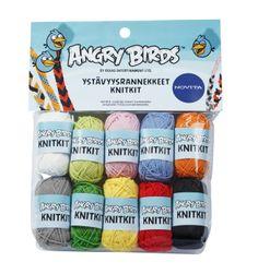 TOTEUTUNUT vähän toisella lankalahjalla, mutta kuitenkin angrybirds-knit_rannenauha.jpg