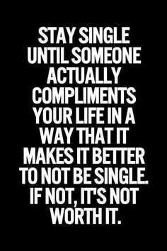 Its good to be single n not mingle !