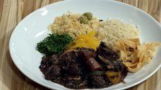 Versão de Claude Troisgros: feijoada lacto-vegetariana de carne de soja - Receitas - GNT