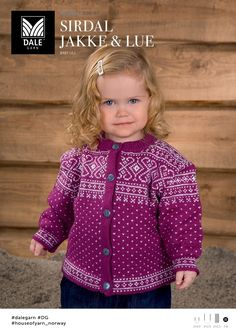 Dale of Norway Book 208 - Traditional Designs for Baby Knitting For Kids, Baby Knitting, Baby Barn, Children's Boutique, Jumpers, Knitwear, Knit Crochet, Sweaters, Clothes