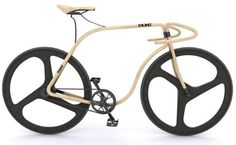 Thonet beech Bike by Andy Martin, at £43 000 I can only Pin it and will never own it