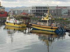 Pilot boats at Ogden Point, Victoria BC