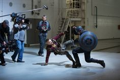 Georges Batroc, Steve Rogers || Captain America TWS || 736px × 490px || #bts || Higher resolution available at source link