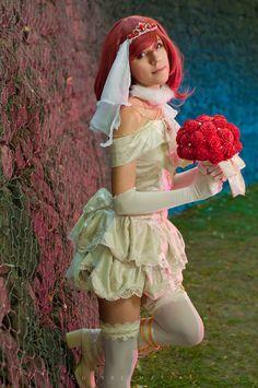 Maki Nishikino Wedding version (June version) School idol festival #cosplay #love #live #makinishikino #school #idol #festival #project #maki #Nishikino #ラブライブ #西木野真姫 #コスプレ #julis #scarlet #wedding #novia #bride #cosplayer #argentina