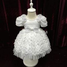 Купить товарМилый младенец платье девочки младенцы платье с цветы белый крещение платье 1 год девочка день рождения платье китай в категории Платья для девочек с букетомна AliExpress.             2180 Бесплатная доставка платье низкой цене завода прямых продаж  В наличии лук цветок девушке платье