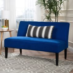 Add some spice and flavor to your life and living room with this loveseat. This loveseat is sure to draw the crowd and add that little something extra to your living room. The color featured on this loveseat will not only add that flare you have been missing in your life but will give you something to smile about every time you walk into your living room. Don't miss out.