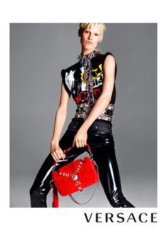 Campañas publicitarias moda otoño invierno 2013 2014 - Saskia de Brauw - Versace