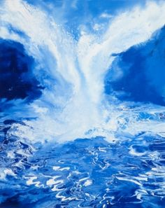 This is oil-falls11 / Oil on canvas, 2011 /