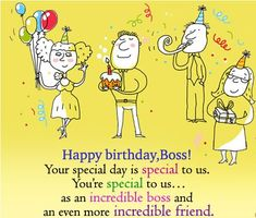 Happy Birthday Manager From Sweet Funny Wishes For Your Boss