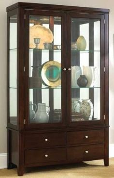 13 best curios and display images cabinets display cabinets rh pinterest com
