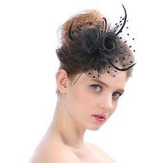 6e1019e4d8b6f Women Girls Hand-Made Crochet Headband Ponytail Hole Cap Hairband ...