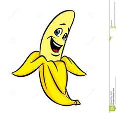 Illustration about Funny cartoon banana illustration isolated exotic fruit. Illustration of amusing, happy, merry - 30284090 Cartoon Banana, Fruit Cartoon, Wood Burned Signs, Wood Signs, Bananas, Monkey And Banana, Animal Masks, Exotic Fruit, Color Pencil Art