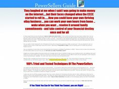 eBay® Powersellers Guide 1&2 Plus Video Course