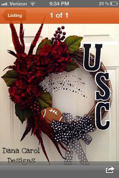Gamecocks wreath-want!!!!