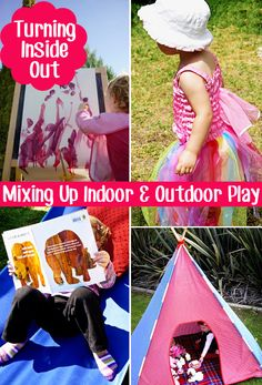 Childhood 101 | Turning Inside Out - Taking Indoor Play Outdoors