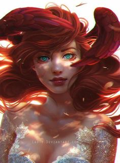 Disney Inspire Fairytale Fanart: The Little Mermaid
