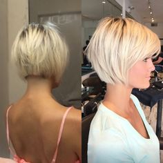 Haircuts Trends 2017/ 2018 Short blonde hair Krissa Fowles