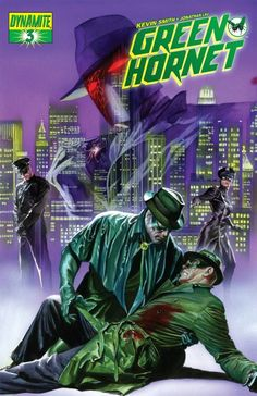 The Green Hornet - Alex Ross Comic Book Artists, Comic Books Art, Comic Art, Alex Ross, Bruce Lee, Film D'action, Green Hornet, Batman, Superman