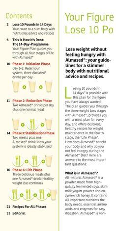 Almased weight loss plan