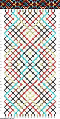 .pattern - macrame friendship bracelet - #74882 - friendship-bracelets.net