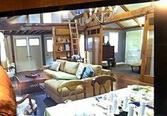 Spencer Hastings barn pll sets designed by William Debiasio and Rachel Kamerman