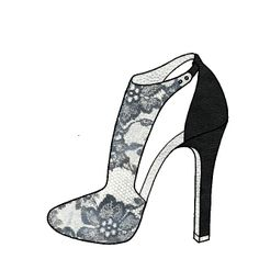 shoes design app_YOU ARE THE DESIGNER_lace shoes