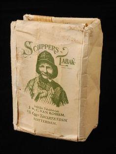 pakje tabak van Van Rossem, productnaam Schippers Tabak