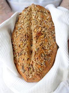 Pan integral de semillas Más
