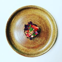 Dessert time, melon, strawberries, Cherries, chocolate crumble, cherry cachaca sauce, vanilla oil and oxalis. #instafood #TheArtOfPlating #foodporn #foodstagram #brazil #kitchen #chef #chefstalk #chefsroll #foodphotography #gastroart #foodart #expertfoods