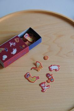 Stickers in a Matchbox - Nostalgia