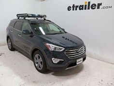 "Got it - Hyundai Santa Fe Rola Roof Mounted Cargo Basket - Steel - 52"" Long x 40-1/2"" Wide x 6"" Deep - 130 lbs"