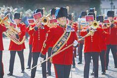 Parade in Herford +++  Briten sagen »good bye«