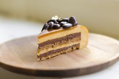 Step-by-step guide to a beautiful eclipse espresso caramel entremet (multi layer mousse cake) using a Silikomart mold. Delicious and fancy! Creamed Honey, Creamed Eggs, Espresso And Cream, Mousse Cake, Baking Pans, Flan, Pistachio, Cake Recipes, Layers