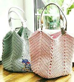 a paso hermosos diseños de bolsas de ganchillo, para diseño de gancho . - häkelanleitung -Paso a paso hermosos diseños de bolsas de ganchillo, para diseño de gancho . Crochet Beach Bags, Crochet Market Bag, Crochet Tote, Crochet Handbags, Tunisian Crochet, Crochet Purses, Knit Crochet, Patron Crochet, Free Crochet Bag