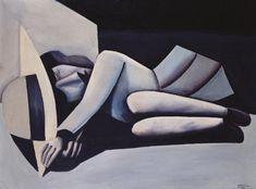Sleeping Schoolgirl (1954) by Charles Blackman.