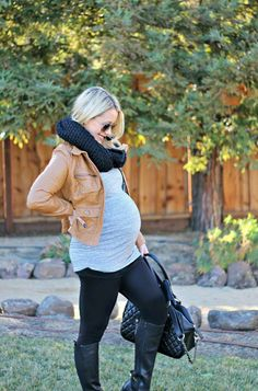 @aidensworld21 for more fall winter maternity outfit inspiration.