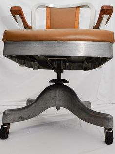 vintage metal office chair. Vintage Metal Desk Chair - Organizing Ideas For Check More At Http://samopovar.com/vintage-metal-desk-chair-decoration-ideas-for-desk/ | Simple Home Office R