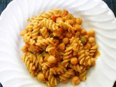 Pasta e ceci mediterranea – Ricette Vegan – Vegane – Cruelty Free