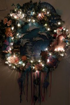 FOT's 2013 wreath creation by Artist, Jean Clark