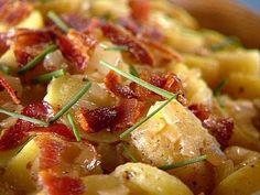 Warm German Potato Salad (Traditional) Recipe by SEAN.THOMAS via @SparkPeople