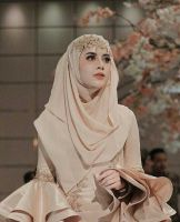 51 Ideas bridal hijab ideas muslim brides for 2019 Muslim Wedding Gown, Muslimah Wedding Dress, Muslim Wedding Dresses, Muslim Brides, Couture Wedding Gowns, Muslim Dress, Dream Wedding Dresses, Wedding Veils, Muslim Couples
