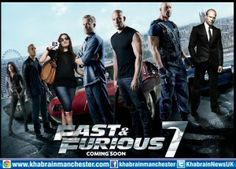 """New York: """"Fast and Furious 7,"""" the action film that was put on hold after the sudden death in a car crash last month of actor Paul Walker will be released in April 2015."""