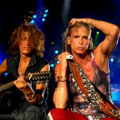 Steve Tyler- these two.....
